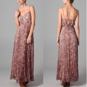 Twelfth St. by Cynthia Vincent Pleated Maxi Dress